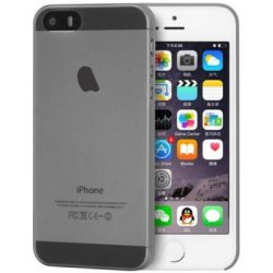 Kryt Apple iPhone 5/5S/SE šedý